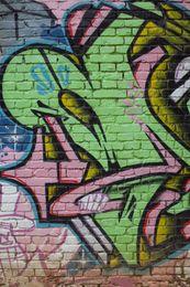 5x7ft Vinyl Custom Photography Backdrops Prop Photo Studio Background Graffiti TY-13