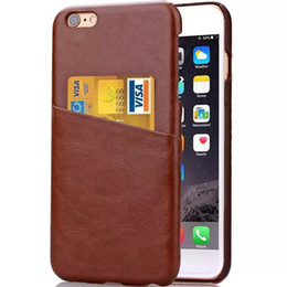 Wholesale beautiful flower credit card slot leather case wood grain crazy horse leather cover for iphone s s plus Samsung S4 s6 LG G4