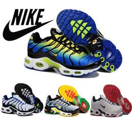2016 Shoes Run Air Max Nike TN Air Max Mens Running Shoes Outdoor Athletic Sneakers Trainers Footwear Tennis Basketball Boots size 41-46 Wholesale Mi cheap Shoes Run Air Max