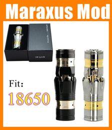 Wholesale Maraxus mod Ironman iron man Mod e cig ecigator maraxus EGO full Mechanical Mod fit battery VS chiyou KING mods TZ028