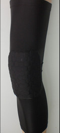 Protect sleeve Knee Pads Honeycomb Pad Crashproof Antislip Basketball Leggings Knee