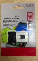 128GB Micro SD card Class 10 Android Robot Smart Phone microSDHC 128 GB microSD SDHC UHS-1 UHS-I U1 128GB TF Card 2014 DHL UPS Free
