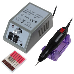 Wholesale 12W Electric Nail Drill Electric File Acrylics Salon Equipment for Both Pedicure and Manicure NAS_236