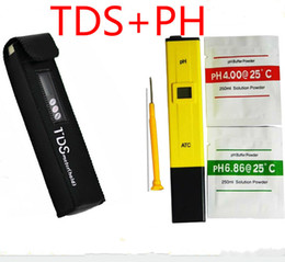 Wholesale Digital PH Meter TDS Tester Monitor for Aquarium Fishing Industry Swimming Pools Laboratory Food PPM