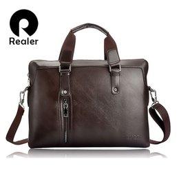 ZEFER famous brand designer man's handbag shoulder bags men's leather briefcase business bag high quality leather computer bag