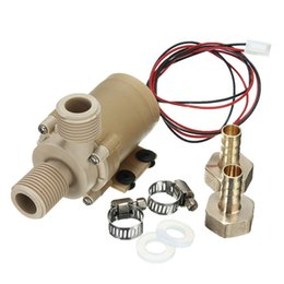 Wholesale Best Price High Temperature Resistance DC V Solar Hot Cooling Water Circulation Pump Brushless Motor Water Pump