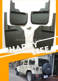 Wholesale Car fenders wheel cover splash guard suitable for jeep wrangler ON dirtboard pieces of