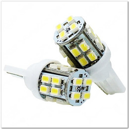 Wholesale 200pcs T10 W5W 194 168 20 SMD 12O6 3528 LED Side Light Bulb 12V wedge auto lamp 20 led