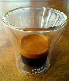 Wholesale box Bodum Assam Double Wall Tumbler Glass coffee cup ml Double Wall Shot Espresso Glass mug