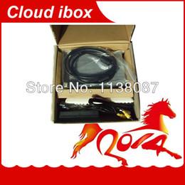 Wholesale Cloud Ibox Free Shipping - Wholesale-Cloud ibox Full HD DVB-S2 Satellite Receiver Enigma 2 CLOUD-IBOX Mini VU+ Solo Youtube IPTV channels free shipping post