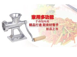 Wholesale Meat Slicer Hand Cast Iron Manual Meat Grinder Mincer Machine Sausage Table Crank Tool for Home Kitchen Cutter Slicer Beef