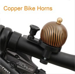 Wholesale MTB Bicycle Horn Bicycle Crisp Retro Copper Bell Copper Bell Retro Copper Bike Horns bell copper