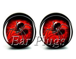 Wholesale ear gauges 60pcs bag bloody spider ear plug gauges tunnel ear expander ASP0521