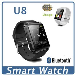 Wholesale 2016 Bluetooth Smart watch U8 U10 GT08 DZ09 Smart Watch Phone Mate Bluetooth U8 For IOS Android iPhone Samsung LG HTC