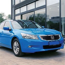 Wholesale Glossy Blue car vinyl wrap with Air Drain best quality x30m roll