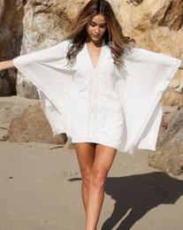 fashion women beach scarf dress sexy lady cotton lace beach shirt swimwear bikini cover up beachwear plus size coverup