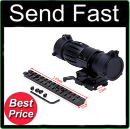 Wholesale Tactical X FTS Magnifier Quick Flip Scope w Flip To Side Mount Fit For Aimpoint Holographic Sight cm fishbone
