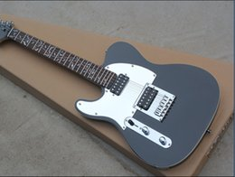 Left-handed Electric Guitar with Black Body and Mirror Surface Pickgaurd and can be Changed as Request