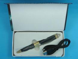 Promotion mémoires vidéo 10 / lot blacksilver stylo mini caméra 720P1080P SPY Enregistreur vidéo Pen caméra HD DVR carte mémoire Micro SD Card caché