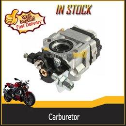 Wholesale Motorcycle Carburetor Carb Fit cc cc Stroke Engine Mini Pocket Bike Rocket Scooter Chopper Motor Fuel System Part