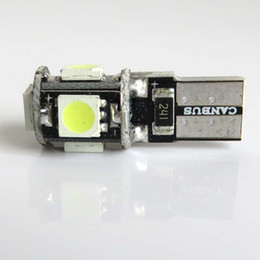 Wholesale T10 smd led Canbus Error Free Degree Car Lights W5W SMD Auto Lights Bulb NO OBC ERROR Sidelight