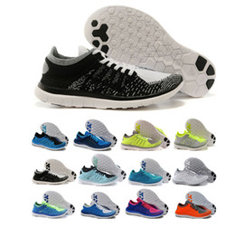Wholesale Free Run flyknitt Shoes Comfortable women and men s Trainers Sneakers Sports Athletic Running Shoes size