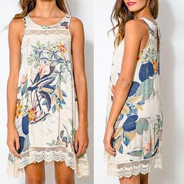 Wholesale-Sexy Women Summer Boho Long Maxi Evening Party Dress Beach Dresses Mini Dress Free Shipping