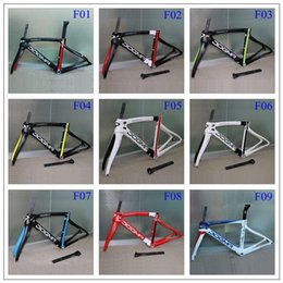 Wholesale 2016 newset painting road bike frame carbon frameset full carbon fiber bicycle frameset