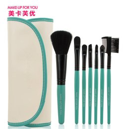 US Kafu gifted wallet 7 specialty brushes makeup brush set Beauty Tools Report