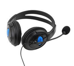 Wired Gaming Headset Headphones earphone with Microphone for Sony PS4 PlayStation 4