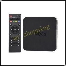 MXQ Android TV Box Amlogic S805 Quad Core 1GB+8GB HDMI 2.0 Android 5.1 Kodi MXQ XBMC Box Media player