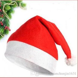 Wholesale 2016 NEW Christmas hats Christmas apparel processing factory direct Christmas decorations party Party Supplies for DHL