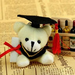 Wholesale Good Service Plush Baby Toy Promote Gift Stuffed Doll Doctor Teddy Bear Graduate Teddy