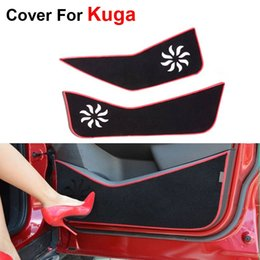 Wholesale News Car Styling Door Protecter Side Edge Protection Pad For Ford Kuga Anti kick Mat For Auto