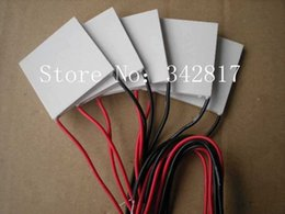 Wholesale TEC1 Thermoelectric Cooler Peltier DC12V A x40 TEC1
