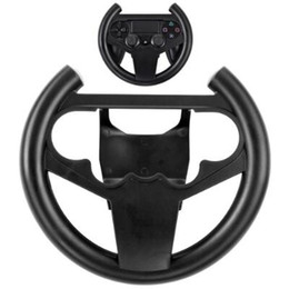 Steering Racing Wheel Holder for Playstation Dualshock 4 PS4 Gaming Controller Joypad Hand Grip Compact Durable Retail Box