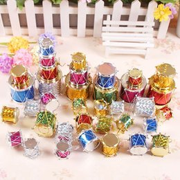 Wholesale Creative Christmas Christmas Tree Decoration Drum Easy Use Recycling Christmas Tree Balls Decoration party decoration