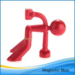 Wholesale Magnetic Man Key Holder Organizer Wall Refrigerator Mount Home Decor Red