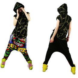 Cross SweatPants Sport Pants Hip Hop Designer Cotton Fashion Print Man Women Casual Trouser Black HipHop