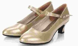 Leather shoes dancing latin shoes with women's leather shoes black and silver ballroom