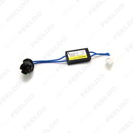 Descuento las luces de carga 10pcs / lot LED de advertencia de la carga del decodificador de la cancelación del sensor NO-OBD error NO Hyper Flash para T10 / W5W / 194