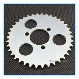 Wholesale 38 teeth T8F Couronne Factory direct mini cross scooter rear sprocket teeth for T8F chain