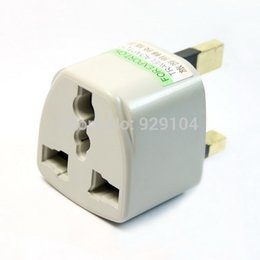 EU AU US to UK adapter plug converter 3 Pin AC Power Plug Adaptor Connector travel connector