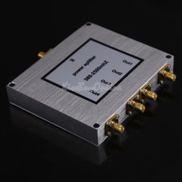 Wholesale 4 Way SMA Power Divider GSM CDMA G Signal Booster Splitter MHz K5BO