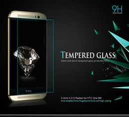 Best Sale 9H Tempered Glass Screen Protector Anti-shatter Best Protection for HTC One M8