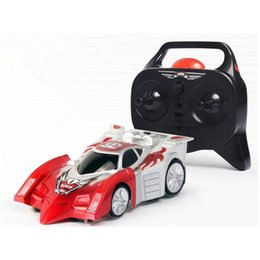 Nouvelle rotation de 360 ​​° 4WD Télécommande Stunt Car 1:24 Crawlers Mur Motors Disque RC Drift Toy Model Car à partir de fabricateur