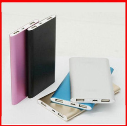 Wholesale Customized LOGO Power Bank mAh USB External Mobile Backup Powerbank Battery for Pad mobile Phone Universal Charger