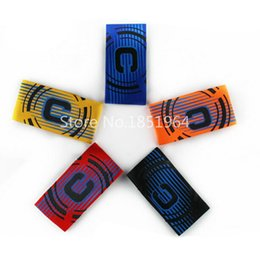 Wholesale New Top quality Soccer Gear Adjustable Captain Armband Stylish Trendy Football Games Player Arm Band Z00784