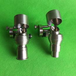 Newest Honey Bucket Titanium nail with titanium Carb Cap 14mm 19mm Female and Male Grade2 titanium 100% in stock