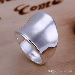 925 Sterling Silver Ring Fine Fashion Thumb Ring Women&Men Gift Silver Jewelry Finger Rings SMTR052